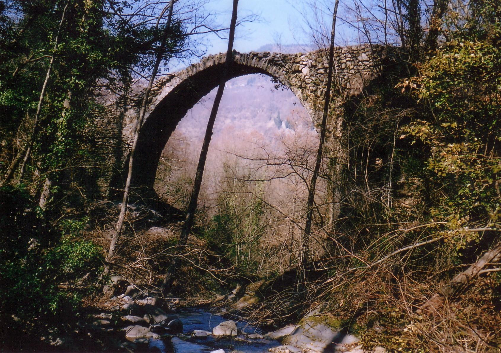 Una foto e un ponte antichi la topina della valle argentina for Disegni di ponte anteriore