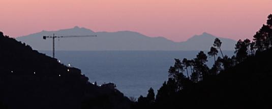 Corsica dalla valle Oxentina