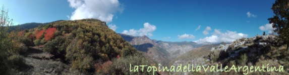 Monte Gerbonte vista panoramica