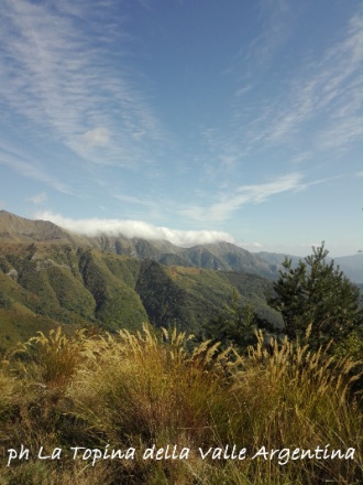 passo della guardia valle argentina