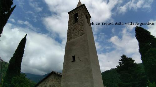 campanile Santuario Madonna della Montà Molini di Triora pipistrelli