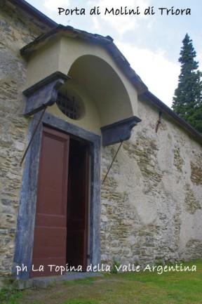 Santuario Madonna della Montà porta di Molini di Triora