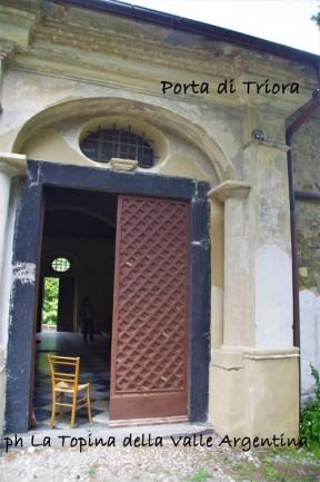 Santuario Madonna della Montà porta di Triora