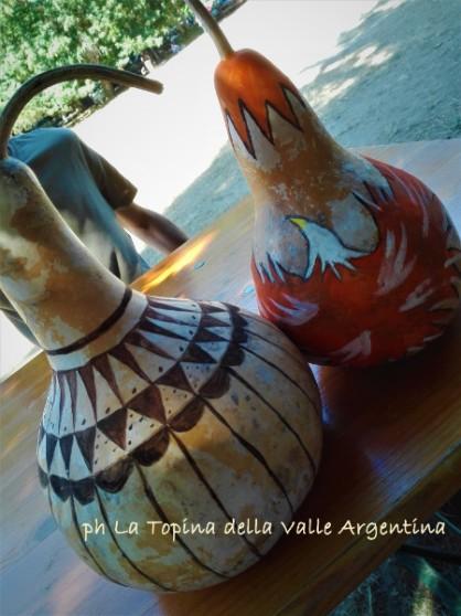 zucca lagenaria decorativa