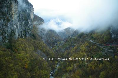 loreto valle argentina autunno