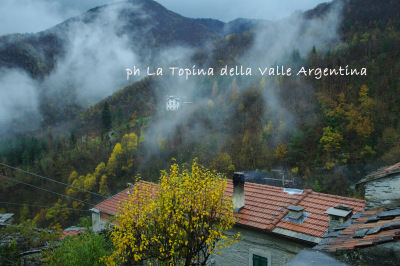 triora valle argentina nebbia