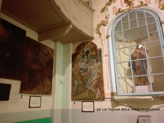 oratorio san giovanni battista triora pinacoteca
