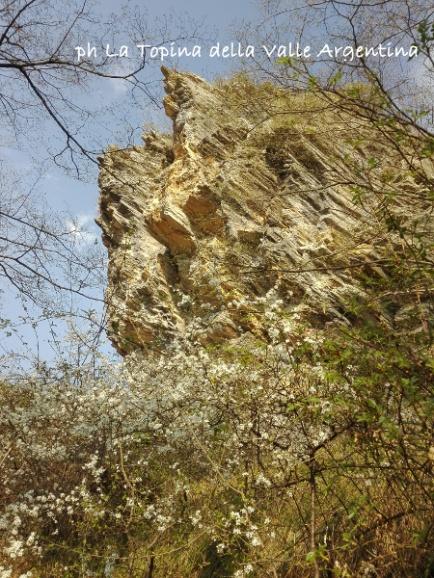 roccia sentiero andana