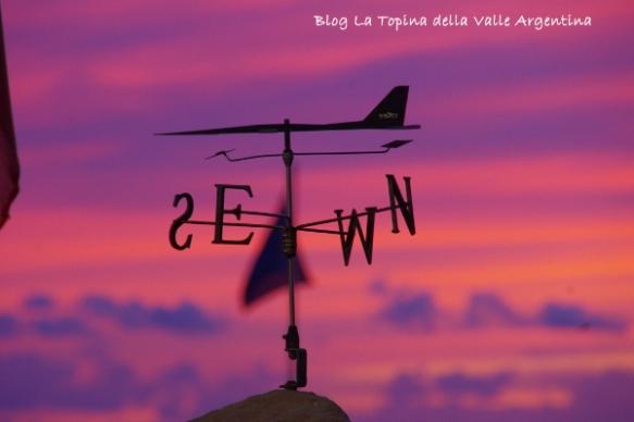banderuola tramonto