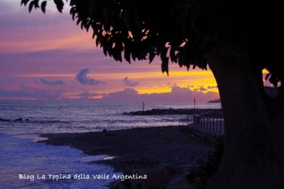 tramonto silouette
