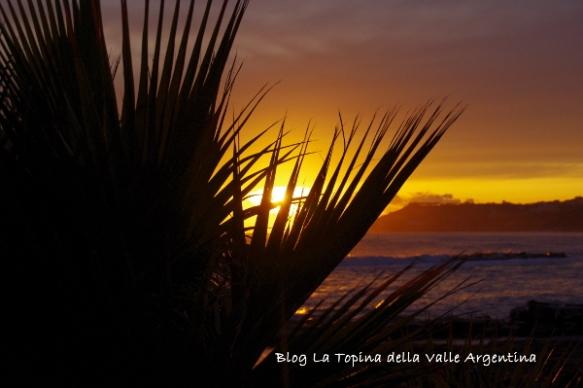 tramonto spiaggia sole